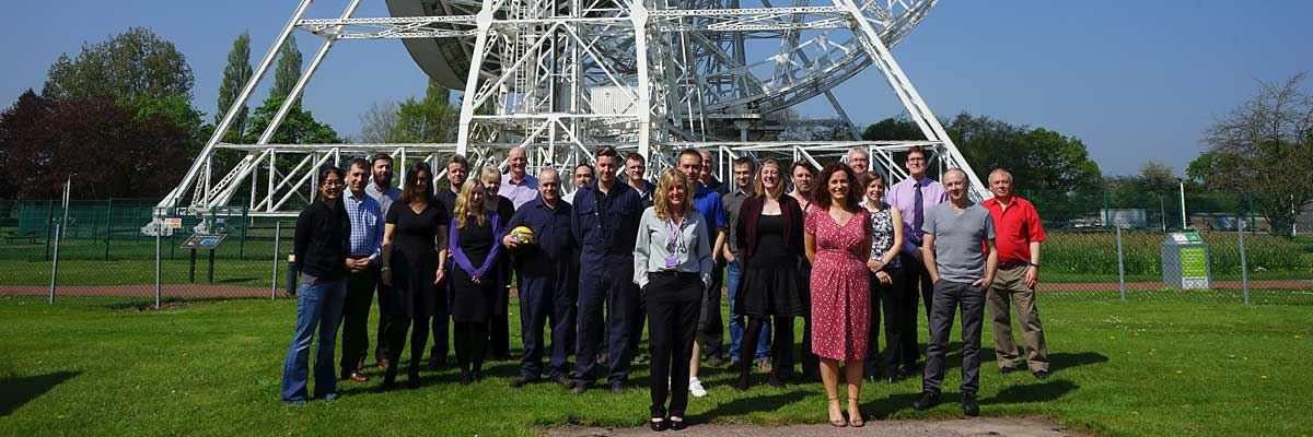 Jodrell Bank Centre for Astrophysics group photo