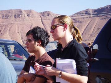 Dorthe Hansen and Ivan Fabuel Perez.