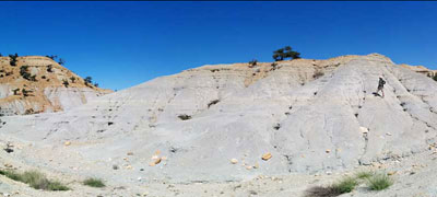 Morocco: In field - contact of Cretaceous on basement.